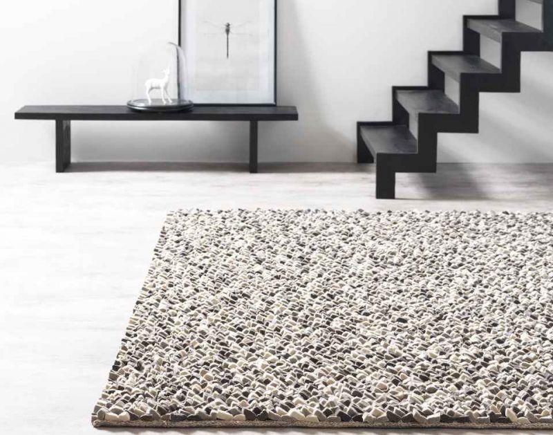 Teppich Rocks & Stone, gefilzte Wolle, 598,00
