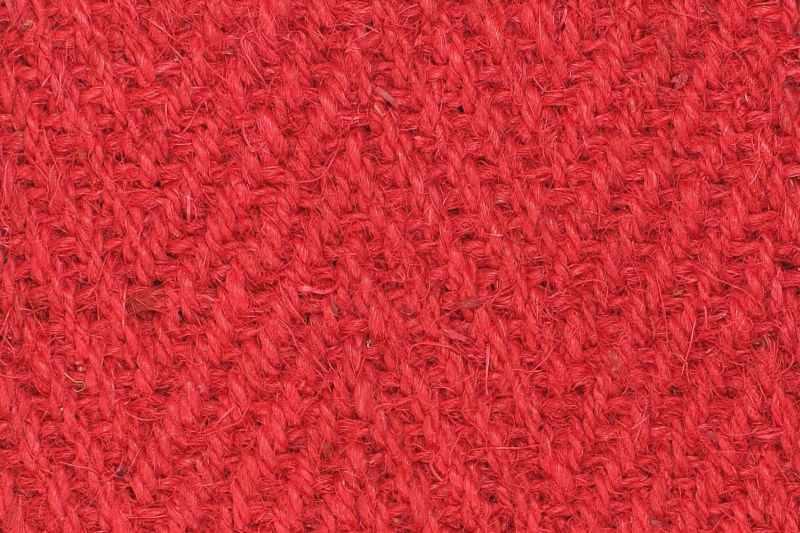 Kokos fischgrat rot