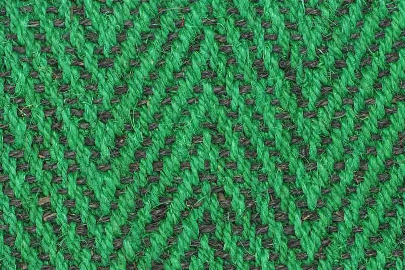 Kokos Fischgrat grün