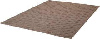 Teppich Wolle Espen 464 Taupe