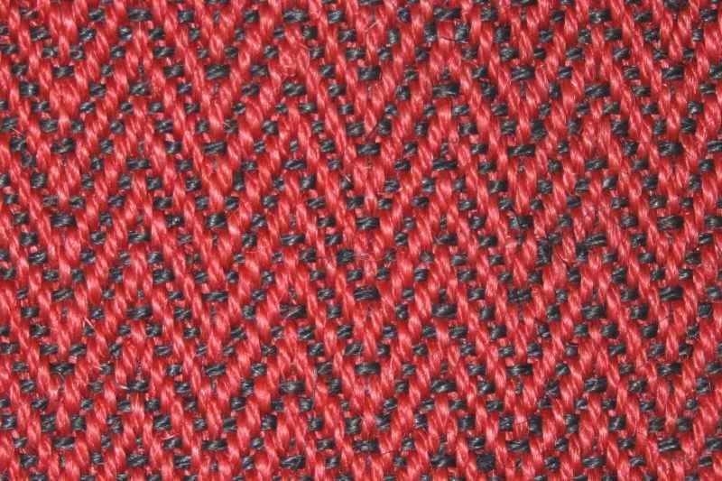 sisal fischgrat rot schwarz 47 78. Black Bedroom Furniture Sets. Home Design Ideas