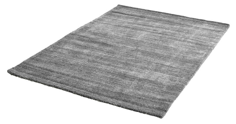 Teppich Wolle Viskose Wellington Handgefertigt Grau 149 95